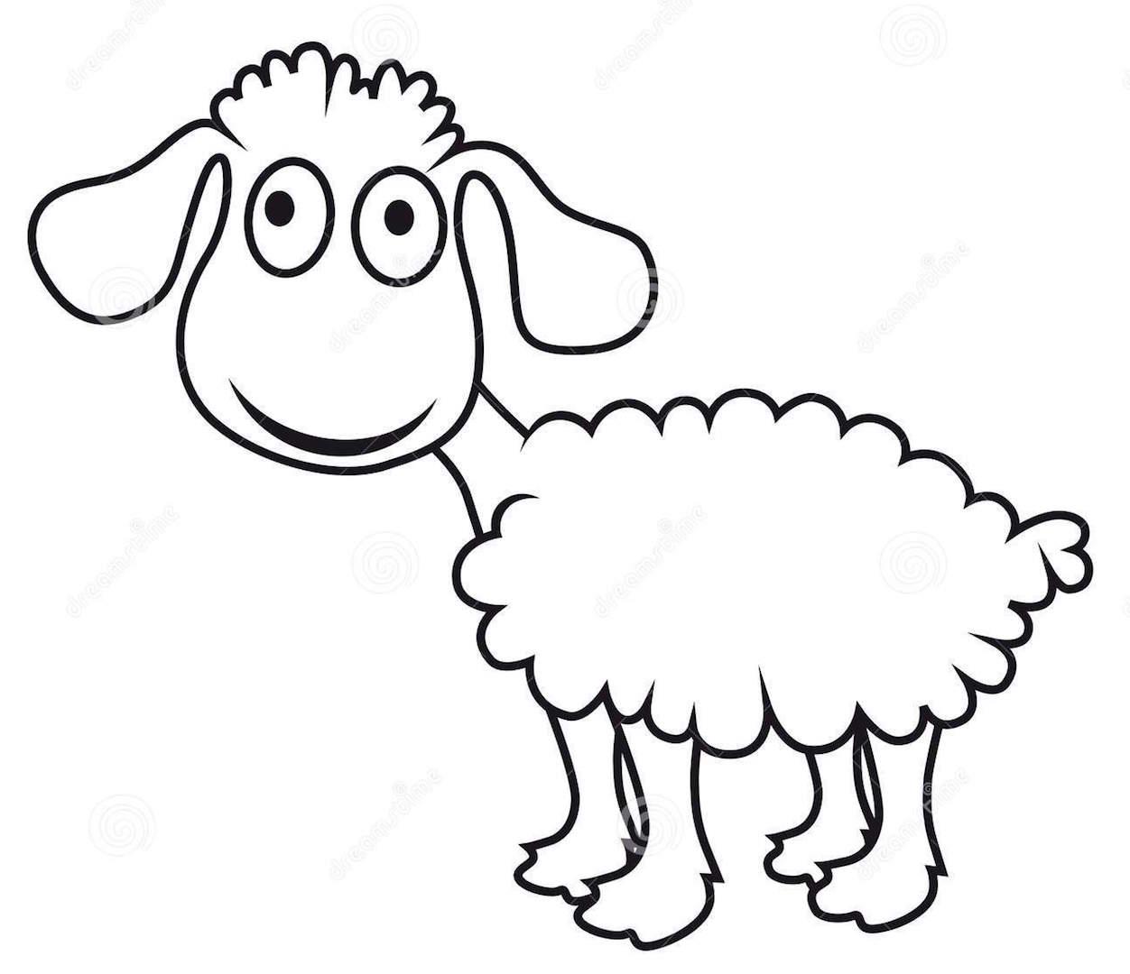 Dessine moi un mouton le mag de champagne - Dessin agneau ...